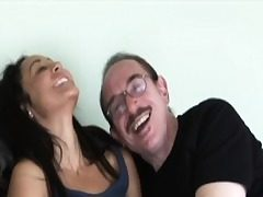 Youthfull inexperienced analy creampied by grandpa