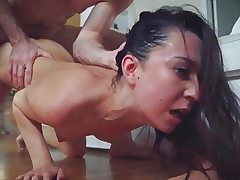Stepsis Ariel got a raunchy and aggressive penetrating