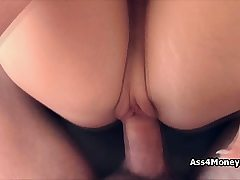Bree needs cash so she offers pussy in come back
