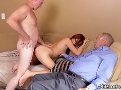 Old woman swallow and damsel rides daddy Frannkie And The