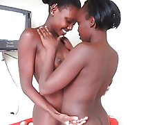 Real African Inexperienced Lesbian Nubiles