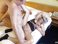 Two German Prostitute called by Fellows and Fucked Condom-free