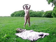 Solo Outdoor Strip & Playing Myself To Ejaculation