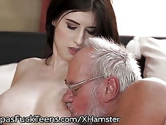 GrandpasFuckTeens Busty Inked Teenager Luvs Old Stiffy