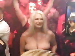 huge bosoms model chloe michelle in a soiree