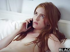 BLACKED BBC Craving Red Head Gets Dominated On Vaca
