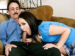Kristina Rose Plumbing Her Step-father