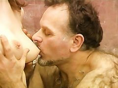 Mature old wooly educator ravages young sweet honey