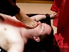 Horny fellow gets predominated over him and she is ambling all over his figure