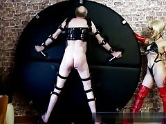 Super-hot blonde wearing a wondrous peruke sexually abusing this horny aged dude